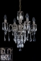Preview: Traditional chandelier in stainless steel or gold