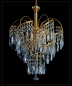 Preview: Chandelier with SQUARELY CRYSTALS! Very Rare!