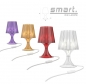 "Preview: Table and desk light ""Smart"", made of coloured injected polycarbonate. / Different colors available"