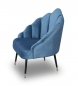 Preview: Retro Sessel Hellblau