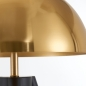 Preview: 3 beinige Pilz Lampe Gold