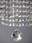 Mobile Preview: Large Gallery crystal chandelier