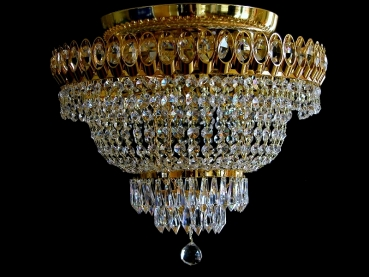 Ceiling chandelier without ceiling chain