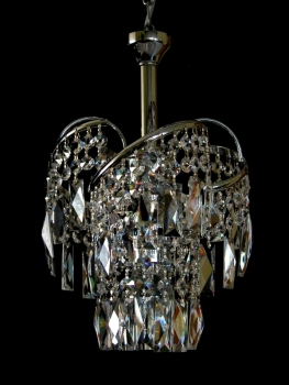 Little crystal chandelier
