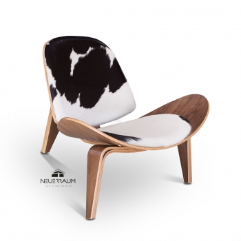Kuhfell Lounge chair