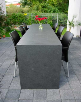 Large stone table
