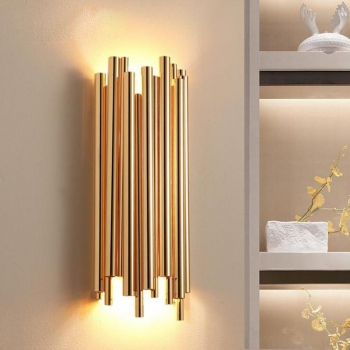 Wandlampe Gold Up & Down