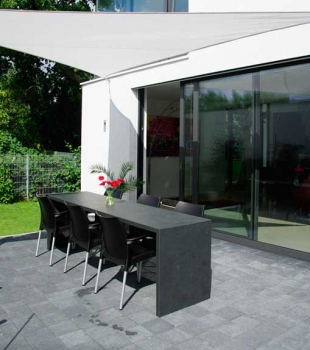 Are you ready for new ideas? What about natural black slate?