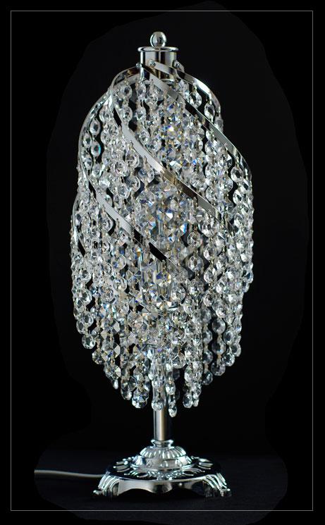 kristall tisch lampe neuerraum. Black Bedroom Furniture Sets. Home Design Ideas