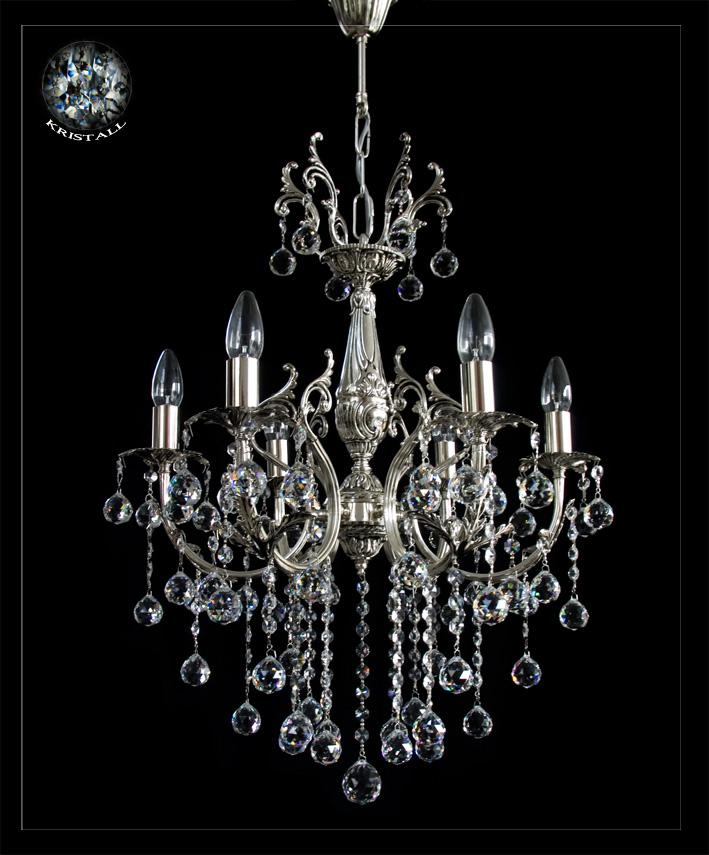 Jugendstil kronleuchter kristall lampe kristall for Kristall lampe