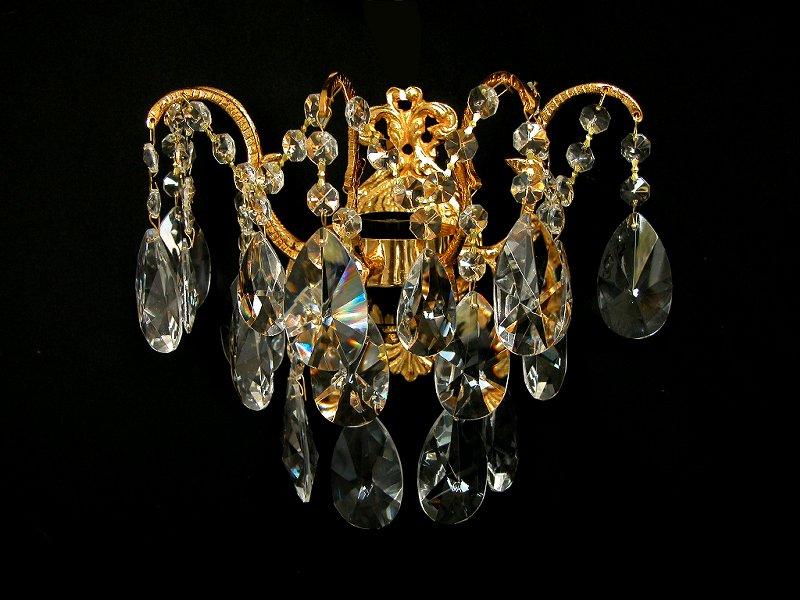 georgische kristall wandlampe - Kronleuchter Wand