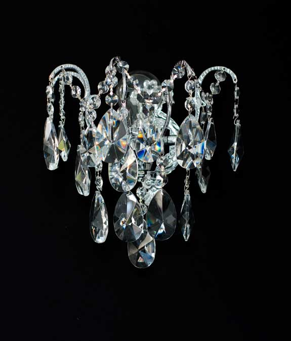 georgian crystal wall chandelier - Kronleuchter Wand