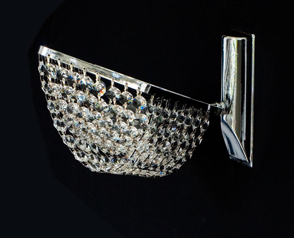 kristall wandlampekristall wandlampen echt kristall wandlampen wand kronleuchter gold o silberfarben - Kronleuchter Wand