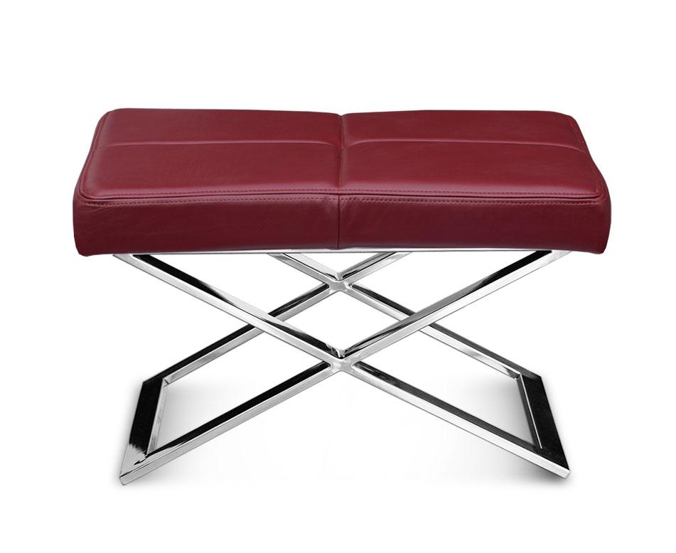 kleine lederbank leder hocker fu hocker hocker leder. Black Bedroom Furniture Sets. Home Design Ideas