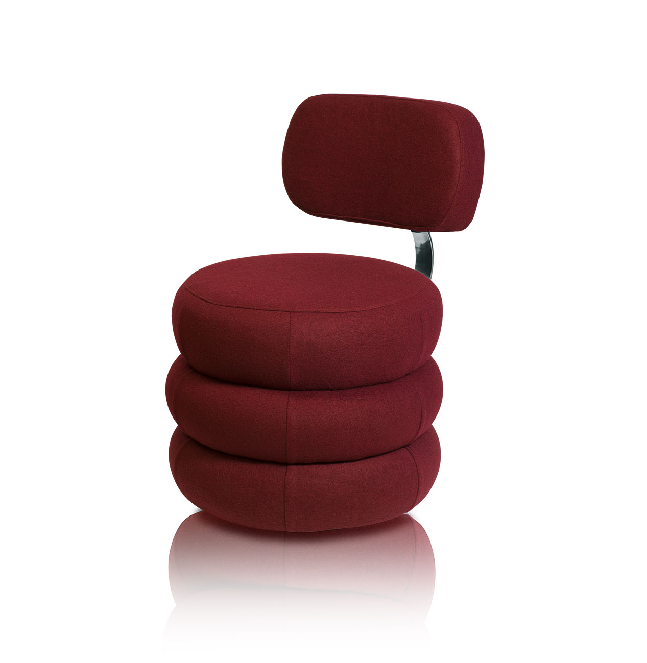 Ausgefallener kreisrunder esstisch stuhl lounge sessel mit for Bequemer sessel