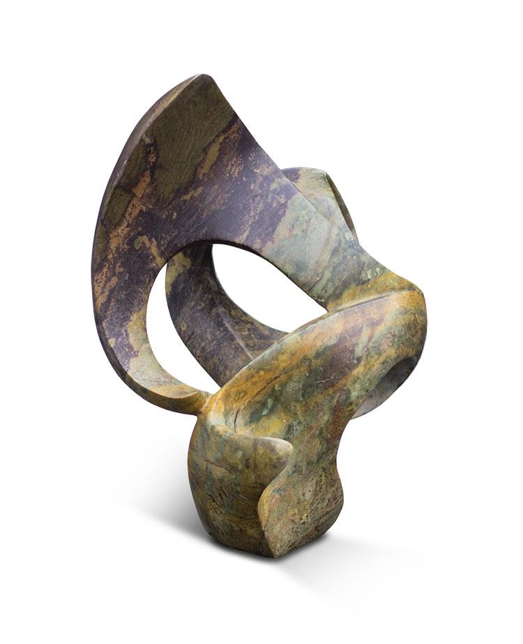 Magic flower stone sculpture neuerraum