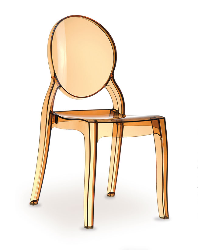 Victoria acryl stuhl plexiglas stuhl durchsichtiger stuhl stuhl aus glas polycarbonat - Transparenter stuhl ...