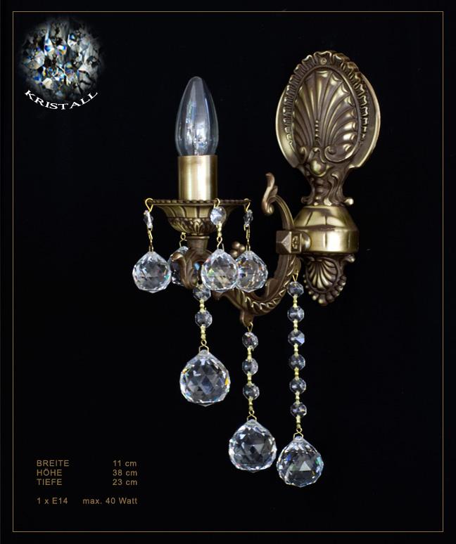 Kristall Wandlampe, Wand Kristalllampe, Wandlampe mit Kristall, Kristall Wandleuchte, Wandlampe ...