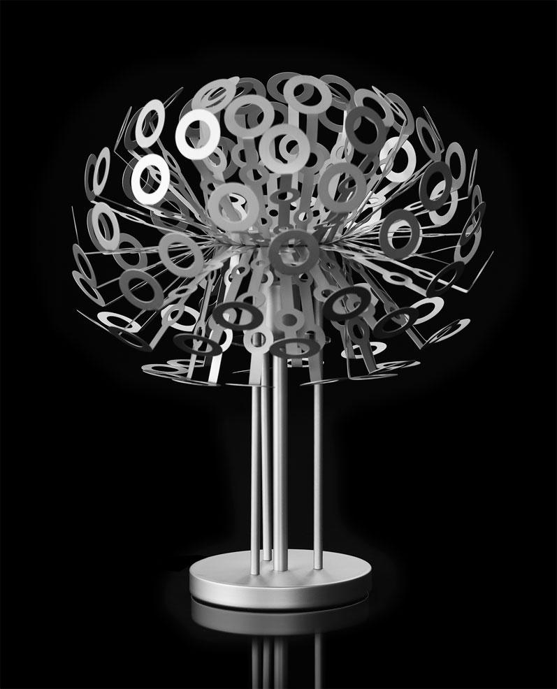 aluminium stehlampe aluminium h ngelampe aluminium. Black Bedroom Furniture Sets. Home Design Ideas