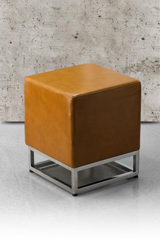 bauhaus leder hocker ottoman fu hocker sitzhocker. Black Bedroom Furniture Sets. Home Design Ideas
