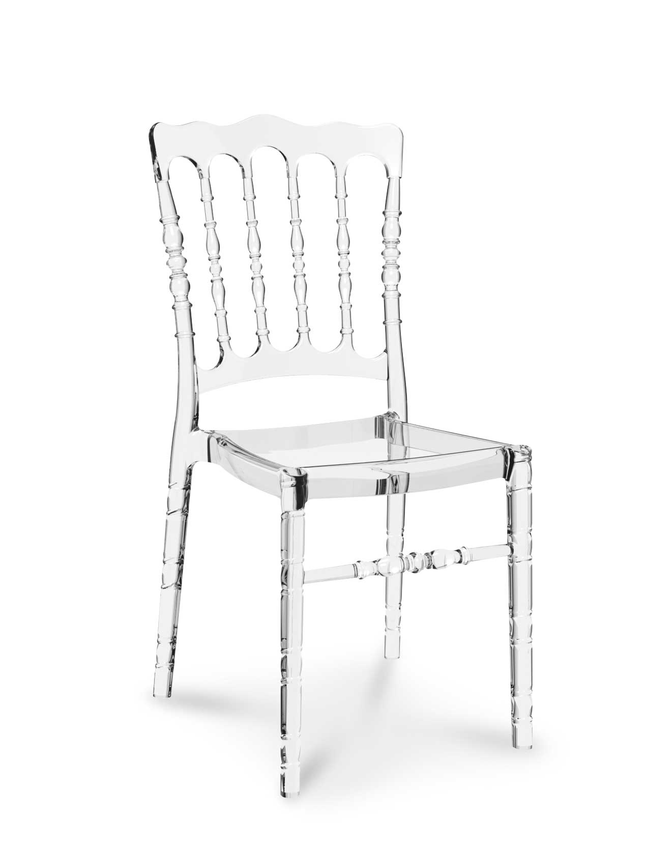Ghost chair opera klar transparent neuerraum - Transparenter stuhl ...