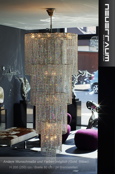 Large designer chandelier