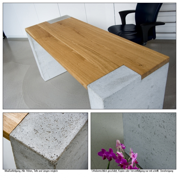 Are you ready for new ideas? What about Oak & Concrete?