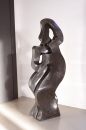 Love dance sculpture stone